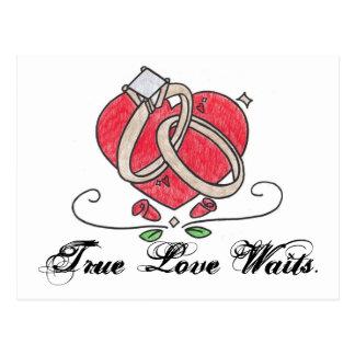 True Love Waits. Postcard