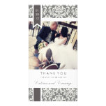 TRUE LOVE | WEDDING THANK YOU PERSONALIZED PHOTO CARD