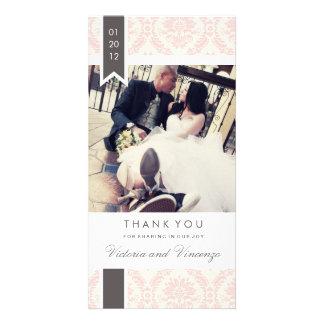 TRUE LOVE | WEDDING THANK YOU CUSTOM PHOTO CARD