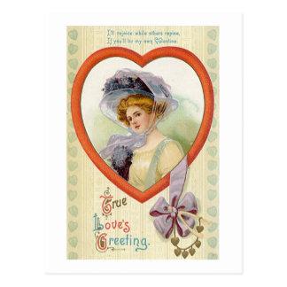True Love's Greeting Postcard