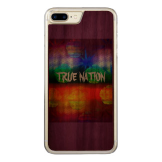 True Nation Carved iPhone 7 Plus Case