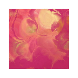 True Nature Colors Abstract in Oils 2d Canvas Print