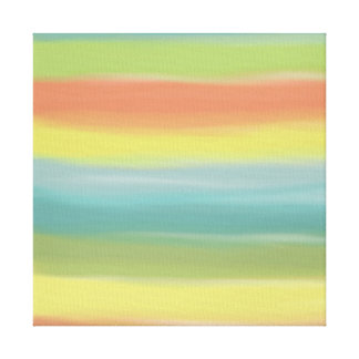 True Nature Colorwash Abstract 2 Canvas Print