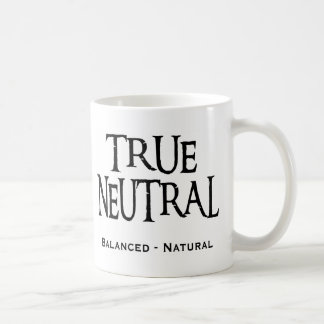 """True Neutral"" Coffee Mug"