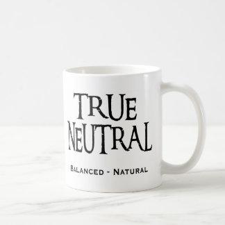 """True Neutral"" Basic White Mug"