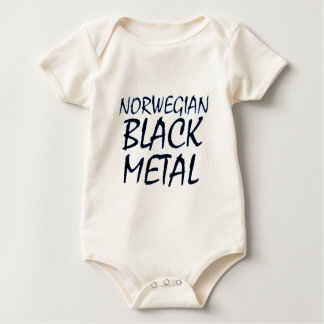 True Norwegian Black Metal Baby Bodysuit