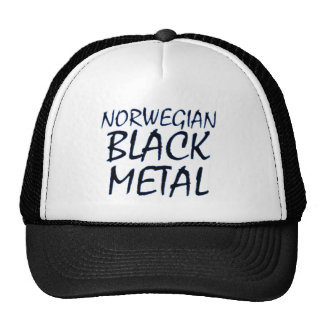 True Norwegian Black Metal Cap