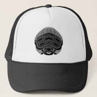 True opposite turtle trucker hat