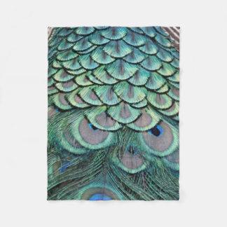 True Peacock Fleece Blanket