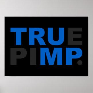 true pimp poster