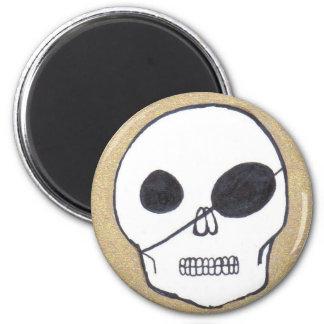 True pirates 6 cm round magnet