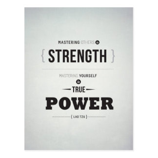 True Power - Inspirational Postcard