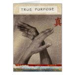 True Purpose Greeting Card