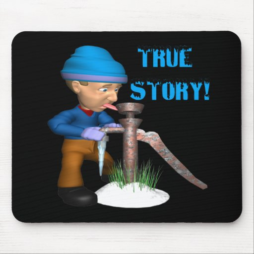 True Story Mouse Pads