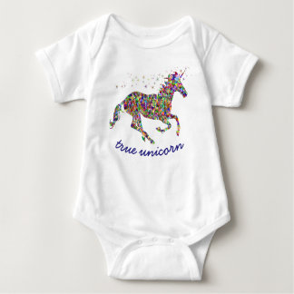 True Unicorn Baby Bodysuit
