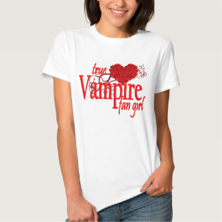 True vampire fan girl shirts