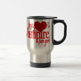 True vampire fan girl stainless steel travel mug