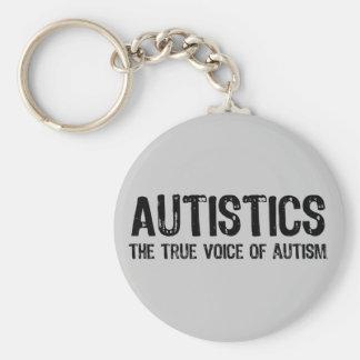 True Voice of Autism Keychain
