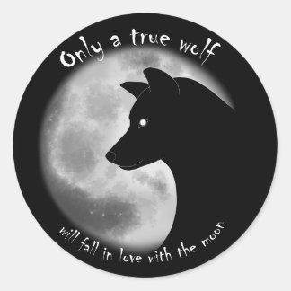 True Wolf Sticker
