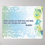 True Words Buddha Quote