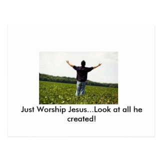 True Worship Postcard