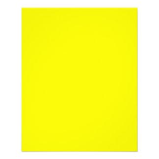 True Yellow Fluo Delight to Customize 11.5 Cm X 14 Cm Flyer