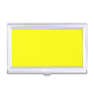 True Yellow Fluo Delight to Customize Business Card Cases