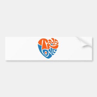 truelove bumper sticker