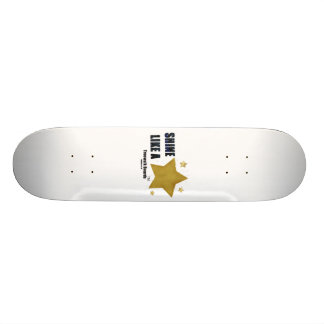 "TRUEWALK BOARDS 7¾"" STAR BOARD SKATEBOARD DECK"