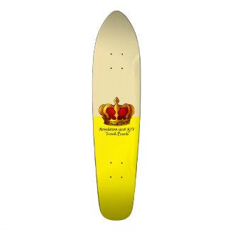 "TRUEWALK CROWN GOLD 7 1/8"" Skateboard"