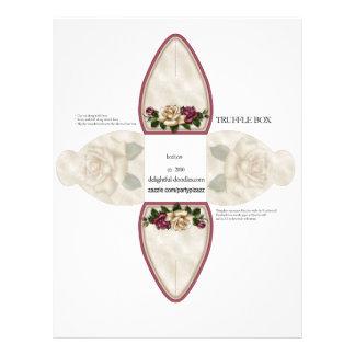 Truffle Box Party Favor box. Birthday or weddings Flyer