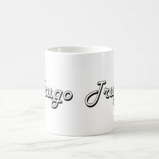 Trugo Classic Retro Design Basic White Mug