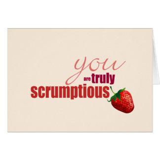 Truly Scrumptious Birthday Card