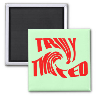 Truly Twisted Refrigerator Magnets