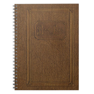 Truly vintage look: old, worn leather bound book