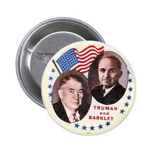 Truman-Barkley jugate - Button