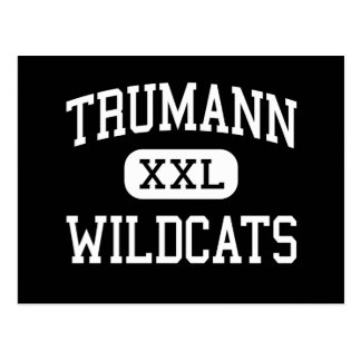 Trumann - Wildcats - High - Trumann Arkansas Postcard