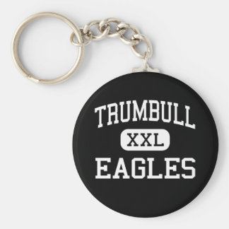 Trumbull - Eagles - High - Trumbull Connecticut Key Ring