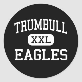 Trumbull - Eagles - High - Trumbull Connecticut Sticker
