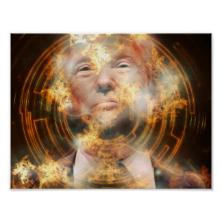 "Trump 11"" x 8.5"", Value Poster Paper (Matte)"
