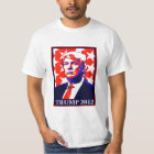 Trump 2012 - Stars (Front Print Only) T-Shirt