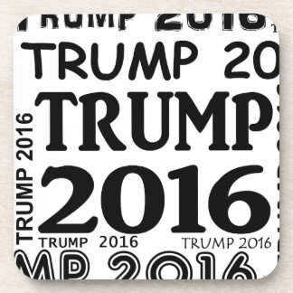 Trump 2016 Bold print popular design Coaster