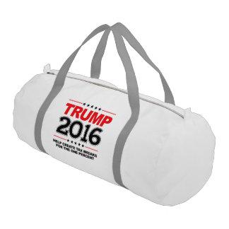 TRUMP 2016 - Create tax breaks for the one percent Gym Duffel Bag