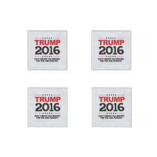 TRUMP 2016 - Create tax breaks for the one percent Stone Magnet