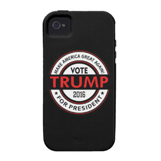 Trump 2016 President USA Election iPhone 4 Cases