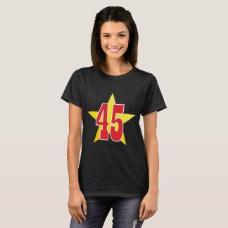 Trump 45 Gold Star (F) T-Shirt