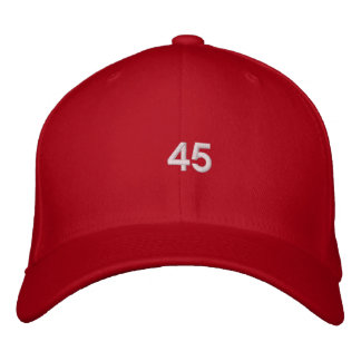 Trump 45th President Hat