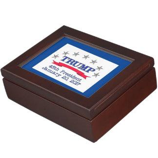 Trump 45th President Keepsake Box