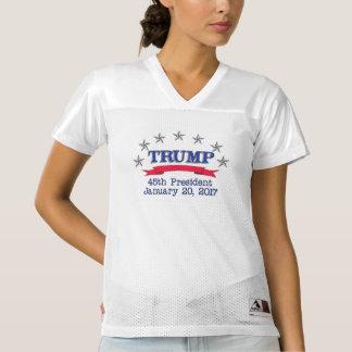 Trump 45th President Women's Football Jersey