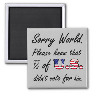 Trump Apology magnet
